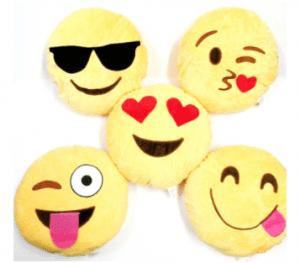 Emoji Craft Ideas - Emoji pillows